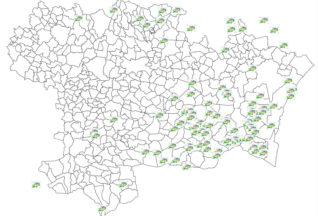 SYADEN - Carte des sites isolés
