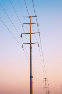 Syaden-électricité-poteaux réseau distribution
