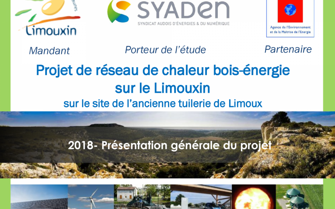 Le réseau de chaleur bois de la Communauté de Communes du Limouxin est lancé !