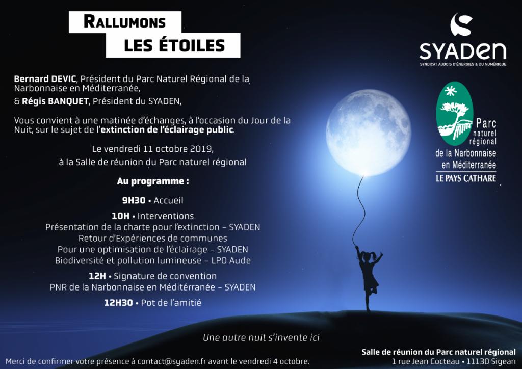 Invitation Jour de la Nuit 2019